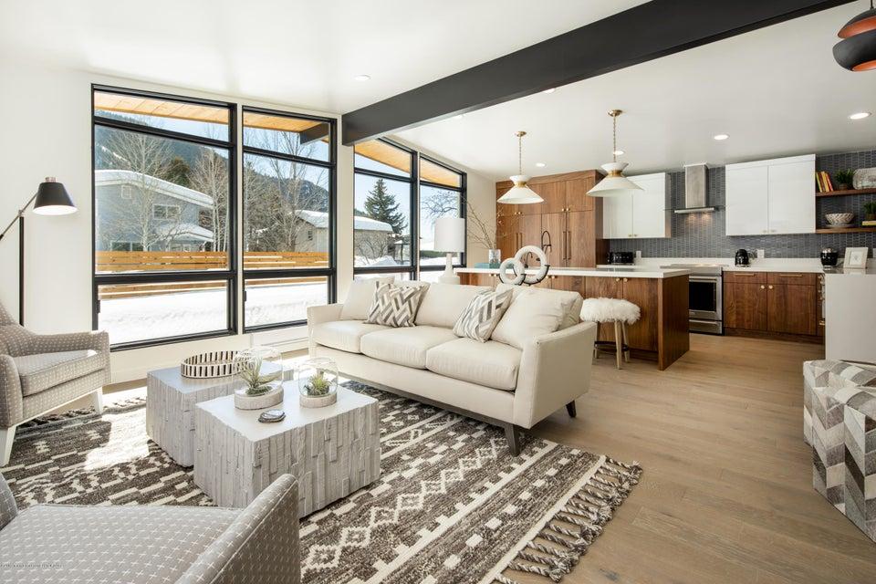 1 Living Area + Kitchen