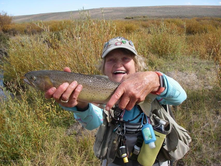 Fishing N Cottonwood Creek