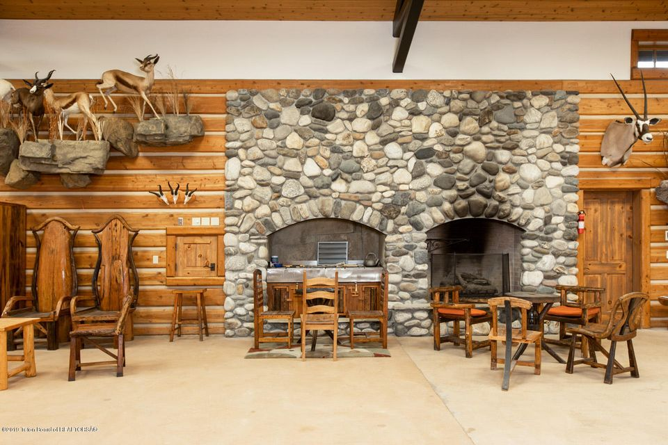 Indoor Fireplace and Grill