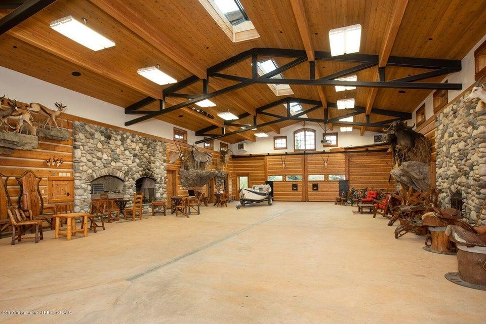Rec room interior