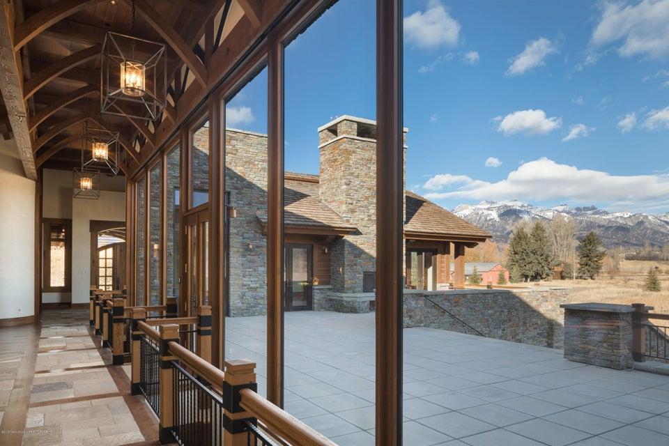 22. Hallway and north patio