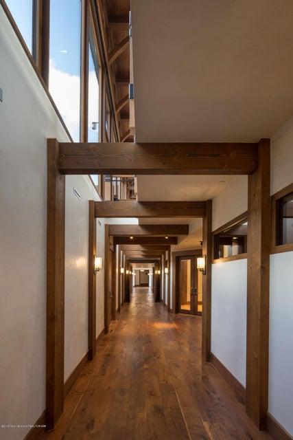33. Downstairs hallway