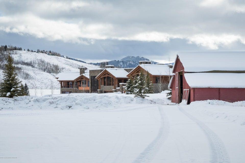 48. Exterior - main house and barn