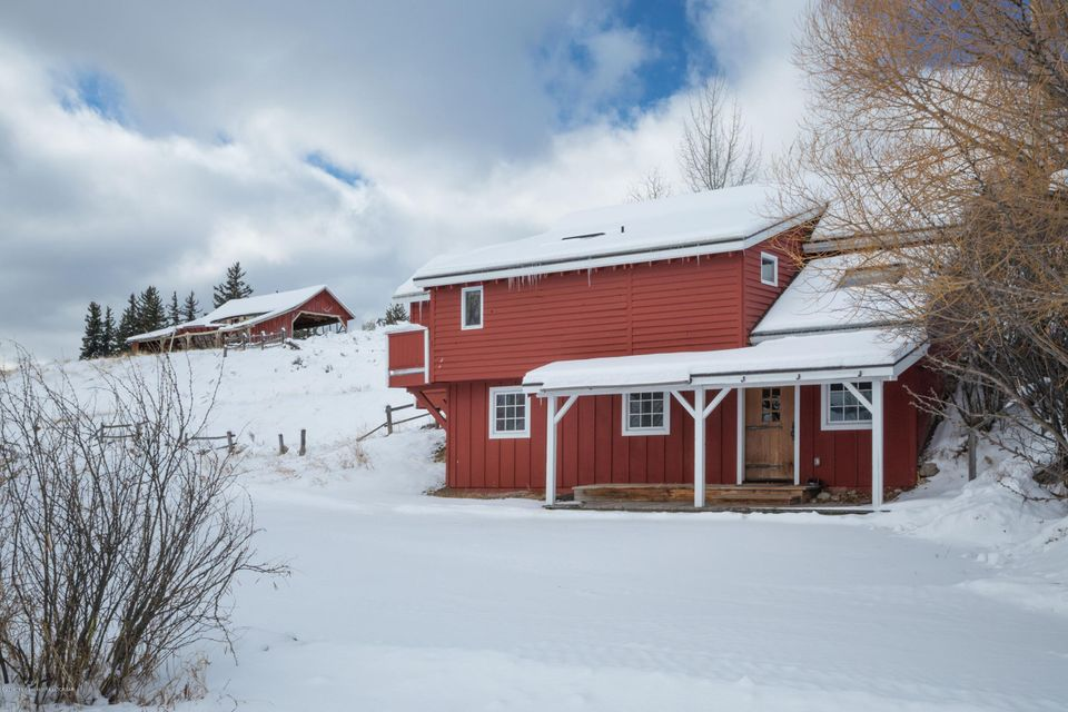 52. Exterior Guest house and barn
