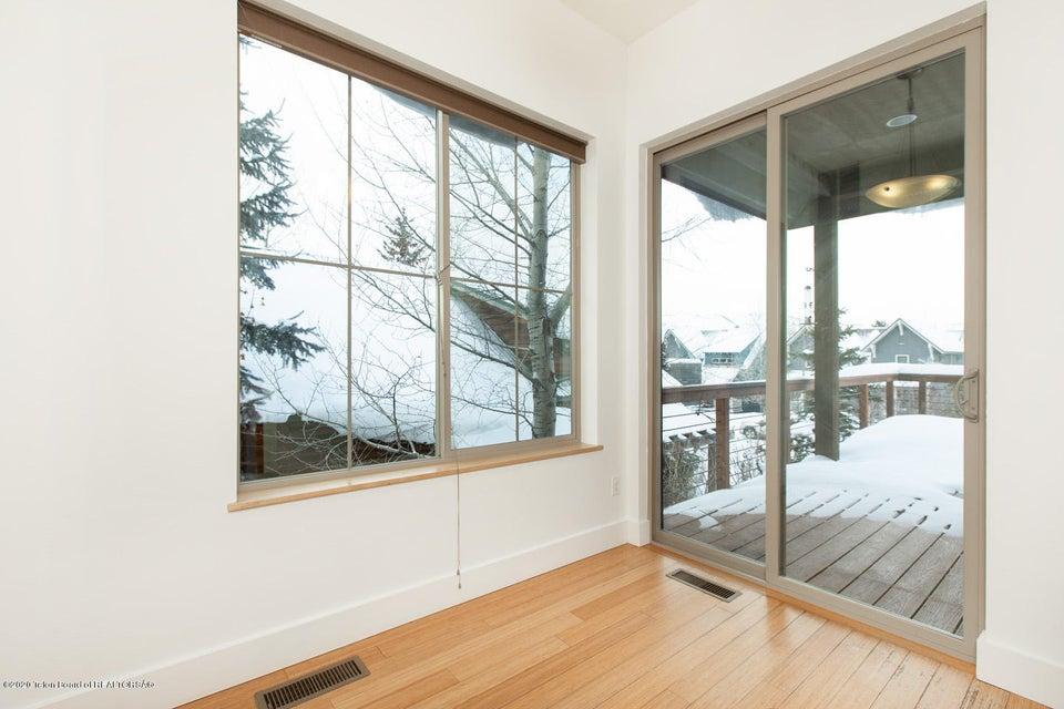 Dining Area + Door to Deck