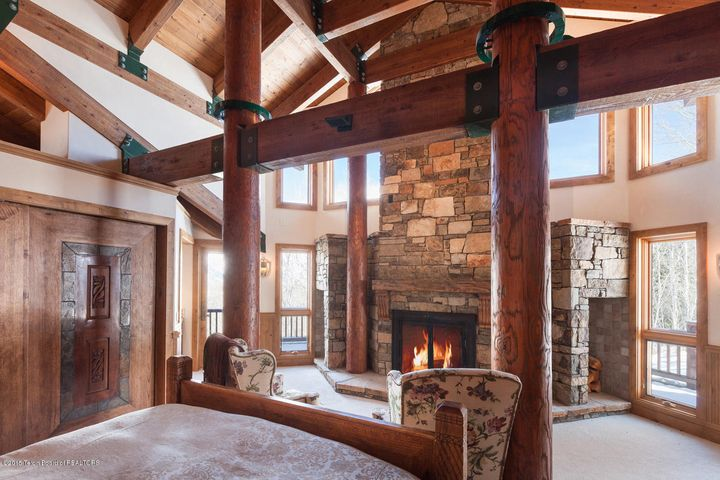 Master Suite with Wood-burning Fireplace