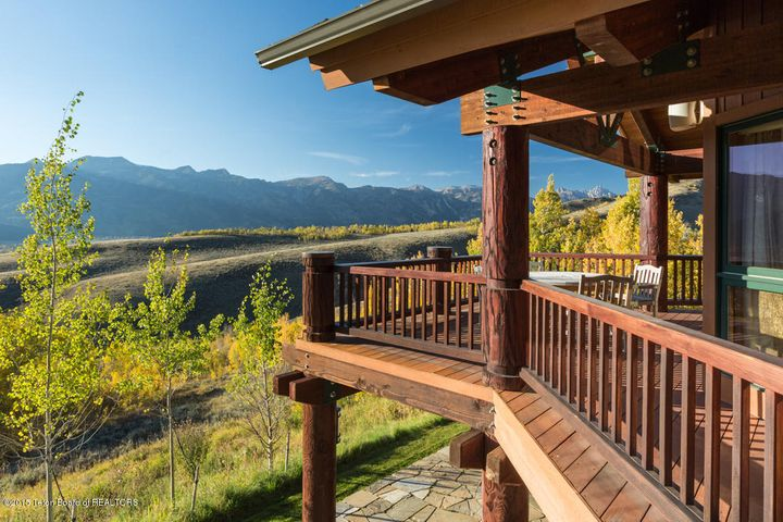 Wraparound Deck with Teton Views