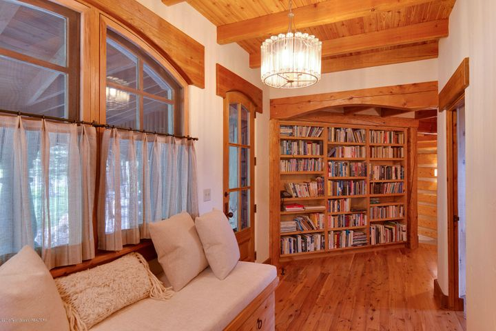 Sitting Area and Bookcase