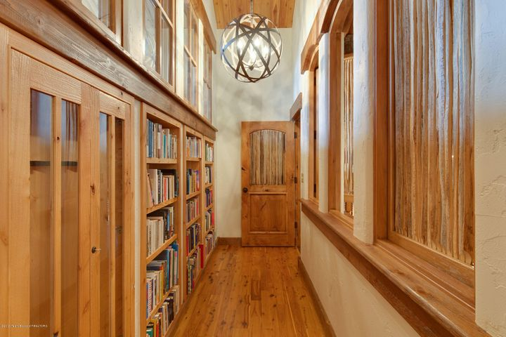Book Shelves in Master Suite