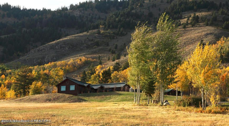 Lodge in Autumn Foliage