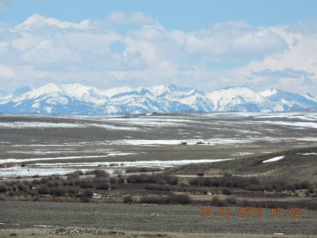 Top of the World Building Site! Wyoming Range to the West.