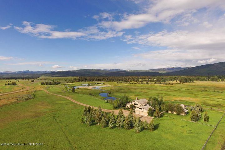 Drone of Home Looking Southwes