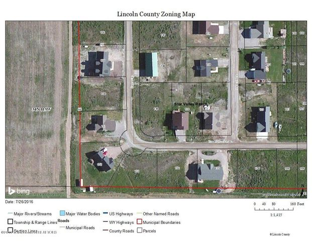 LOT 149 PLAT 5  <br>Star Valley Ranch, WY
