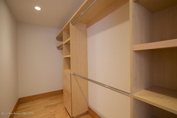 custom bedroom closet