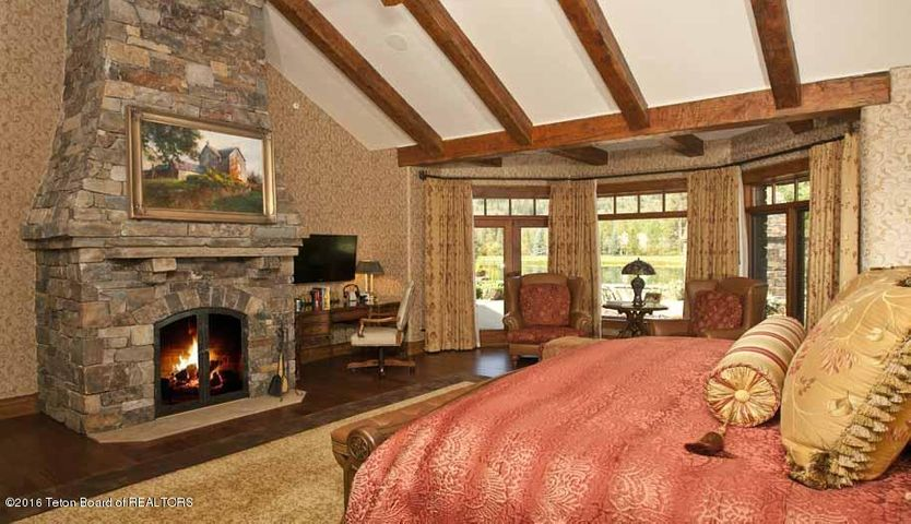 12 Master Bedroom & Fireplace