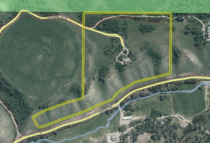 35.5 acres bordering National Forest