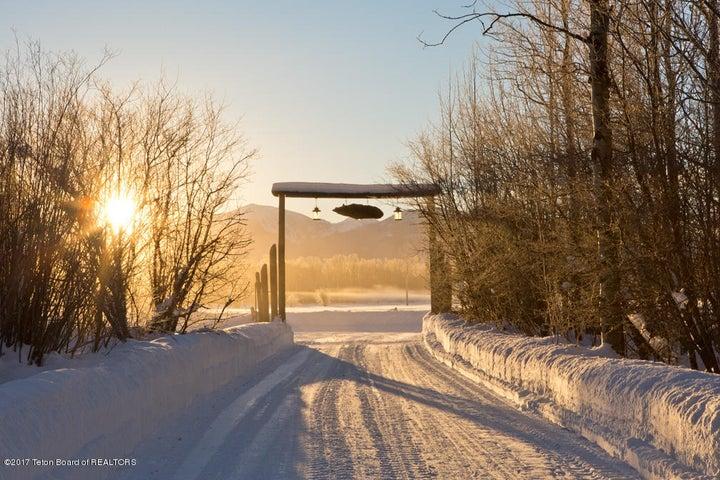 Winter Sunrise Entry Framing Framing G