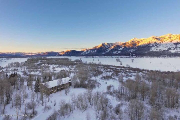 21 Winter Sunrise Drone from NE Looking