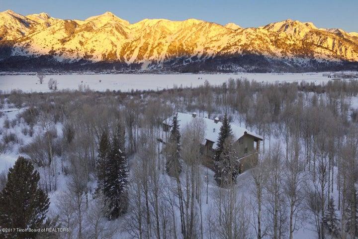25 Winter Sunrise Drone from SE Corner o