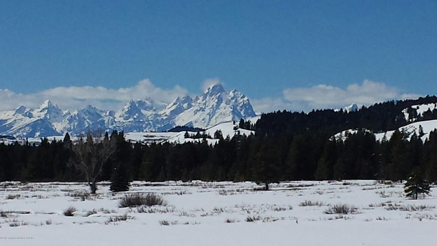 Winter Grand Teton Photo