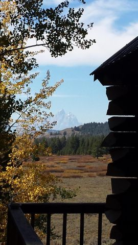 Cabin Corner & Teton View