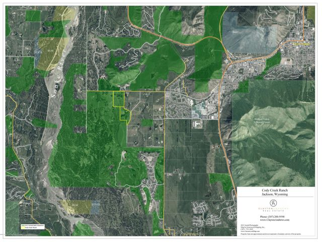 Aerial w/ Conservation Easements