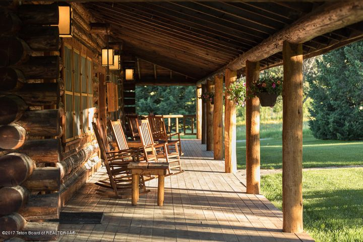 The Lodge Porch