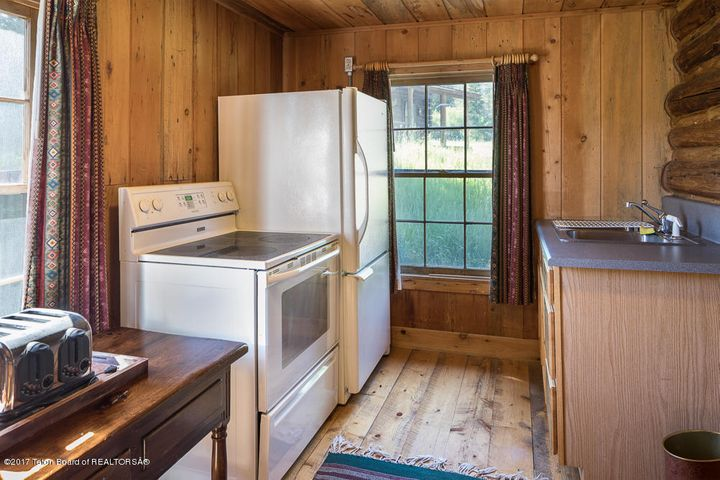 Guest Cabin Kitchen