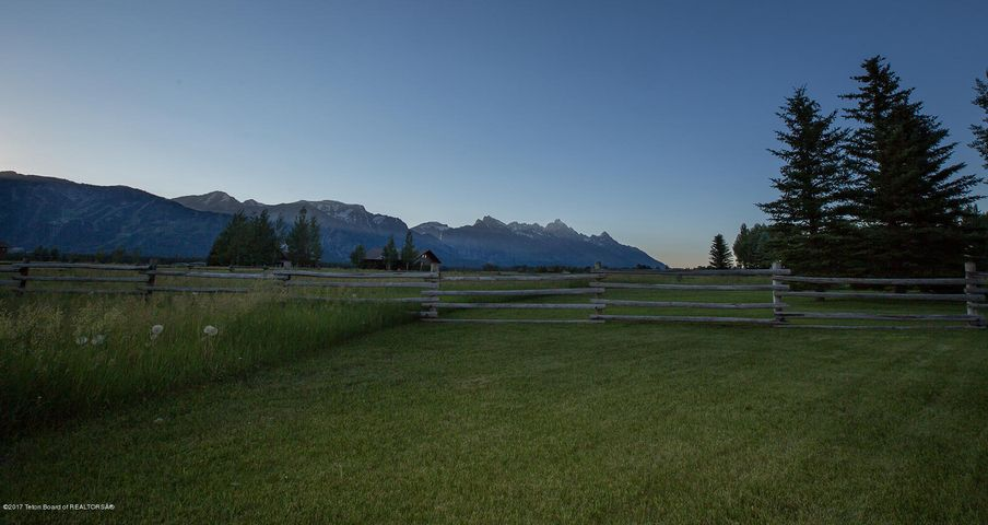 Tetons Panoramic at Dusk