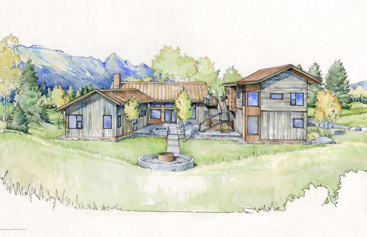 Rendering from Rear of Property