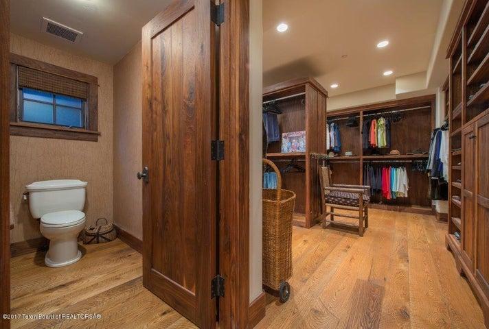 Master Bath/closet