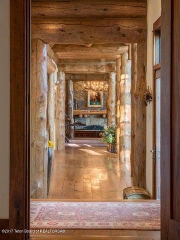 Hallway from Master Bedroom