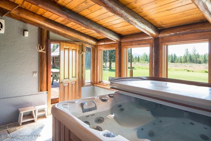 In-door Hot Tub