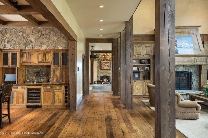 Great Room Hall, Kitchen + Den