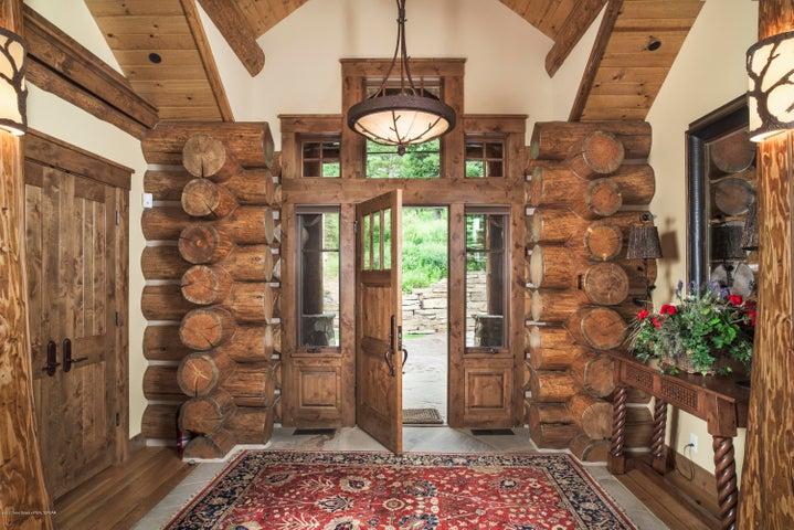 Front Door + Foyer