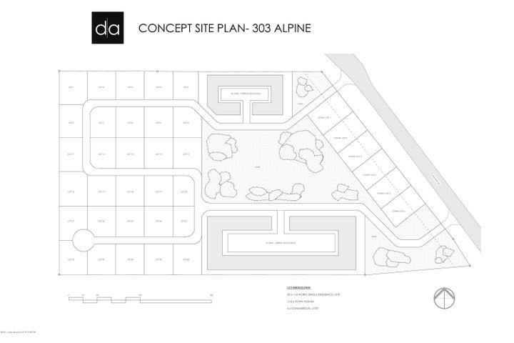 Development layout idea by Design Associates