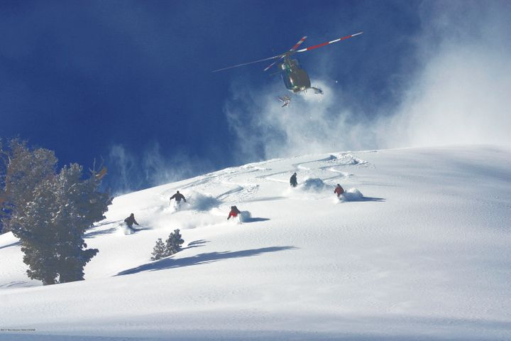 19. Heli-skiing near Wolf Mountain