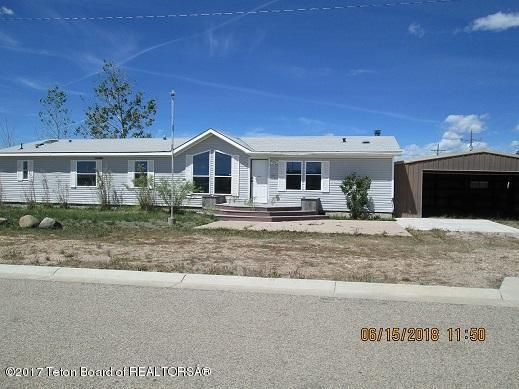 303 COTTONWOOD AVE, Marbleton, WY 83113