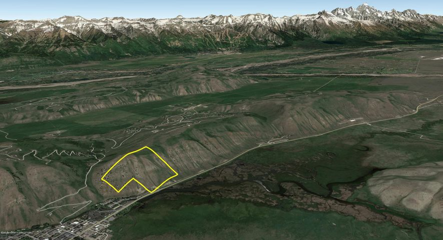 45.8 Acres on East Gros Ventre Butte