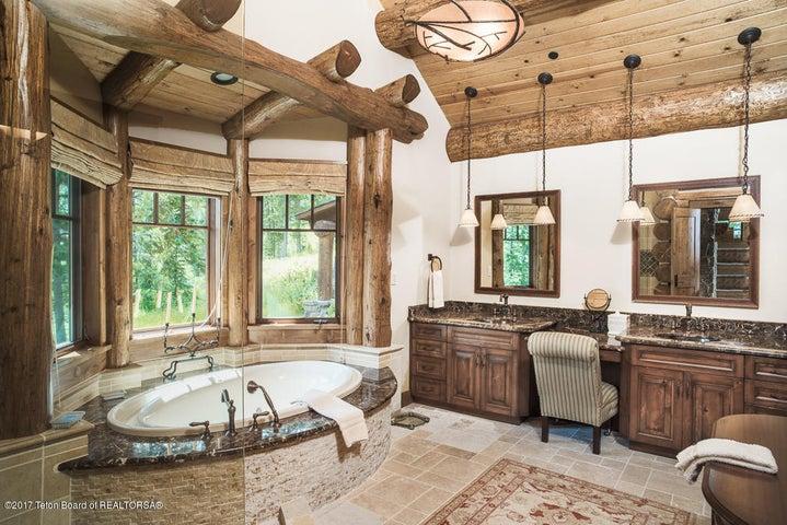 Master Bathroom Vanity + Soaking Tub