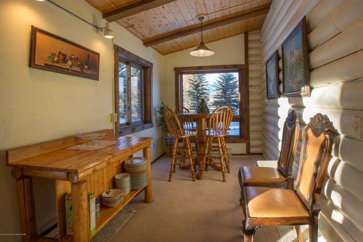 Dining Area Teton Views