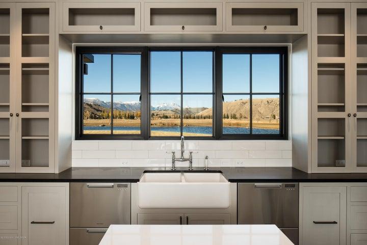 Kitchen teton view