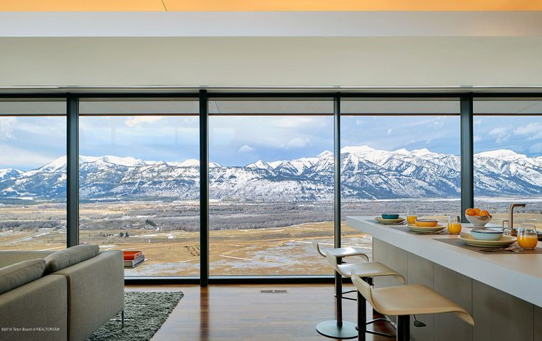 Floor-to-ceiling glass