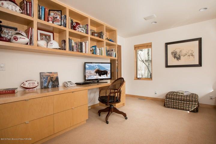 Bunk Room Office Area