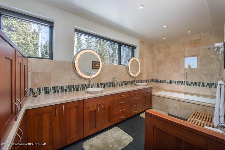 Junior Master bathroom-lower level