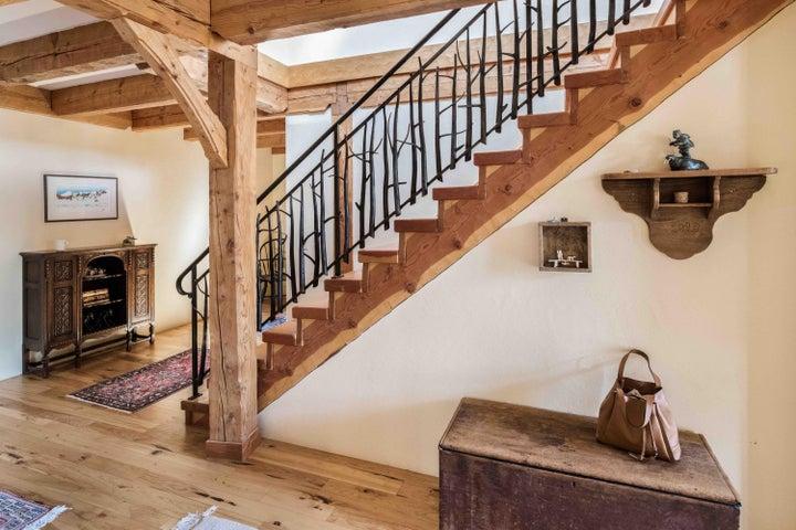 Stairway iron work