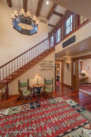 Stairway in Entryway