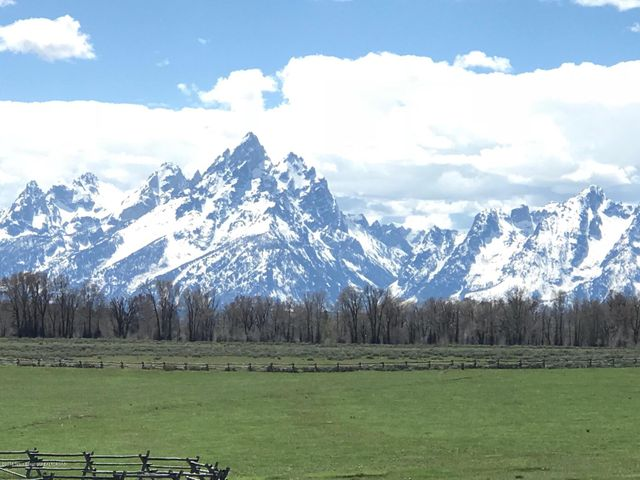 Spring Teton View from Buffalo Valley