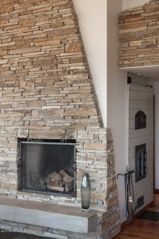 Fireplace/wood stove combo