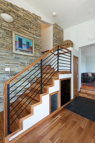 Stairs to the master suite